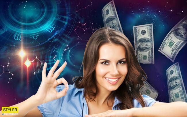 Астролог пророкує цим знакам Зодіаку раптове багатство на вихідних