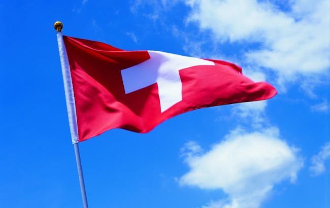 Фото: флаг Швейцарии