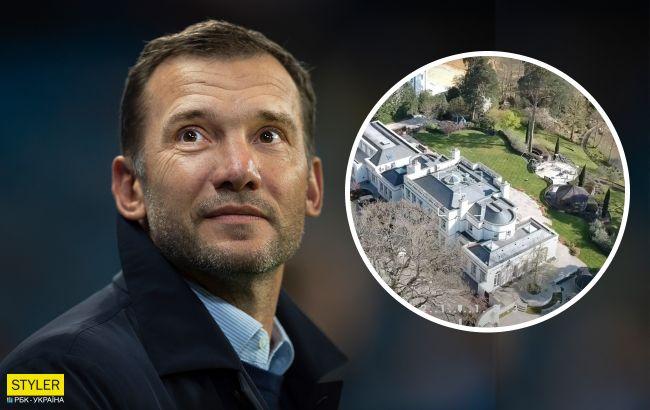 Дом-монстр в Киеве и элитный особняк в Лондоне: как живет Андрей Шевченко после Евро 2020