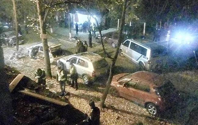 Фото: теракт в Киеве (Любовь Шевченко facebook)