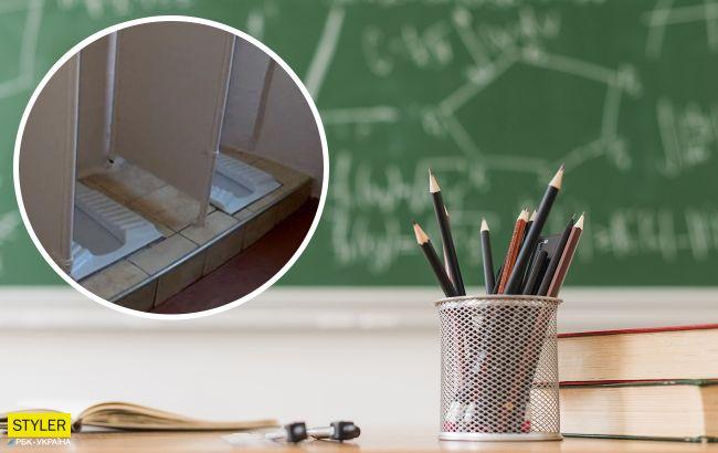 В школе Львовской области дети не могут ходить в туалет: их снимают на телефоны и подглядывают