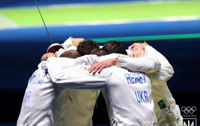 Фото: українські шпажисти програли на Олімпійських іграх-2016 угорцям