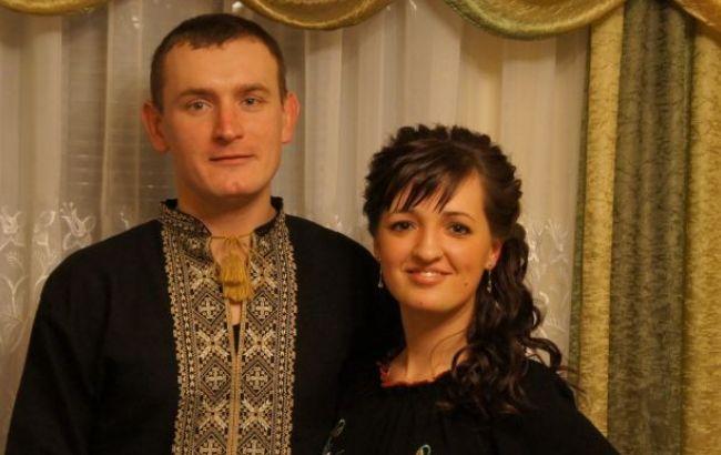 Фото: Юлия Шпичка с мужем