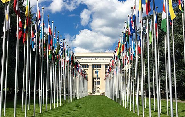 Фото: штаб-квартира ООН в Женеве (nog.ch)