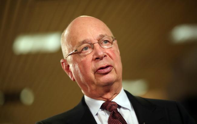 Фото: засновник Всесвітнього економічного форуму Клаус Шваб