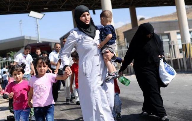 Фото: біженці у Швеції