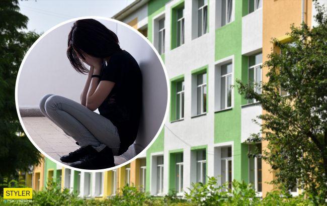 У школі Луцька учениці скаржаться на знущання: вчителька змусила роздягнутися до білизни