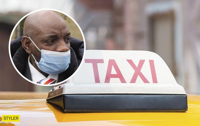 """Український таксист потрапив у расистський скандал і назвав пасажира """"мавпою"""": спливли деталі"""