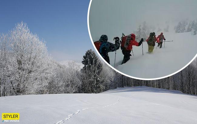 Вот это зима! Впечатляющее видео украинских Карпат потрясло сеть