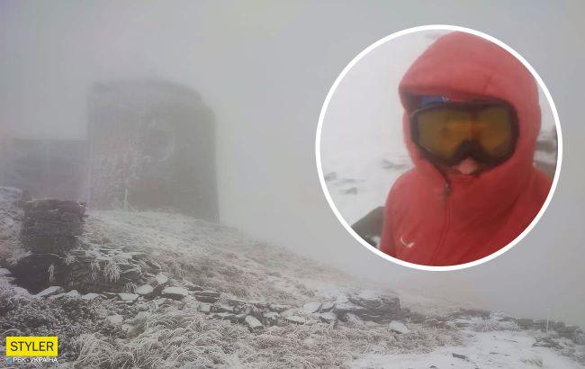 Карпаты накрыл снежный шторм: спасатели просят туристов не ходить в горы (видео)