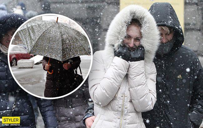 В Україну нагрянуть морози і сніг: синоптики назвали дату