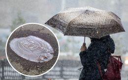В Україну повертається дощ з мокрим снігом: де буде негода