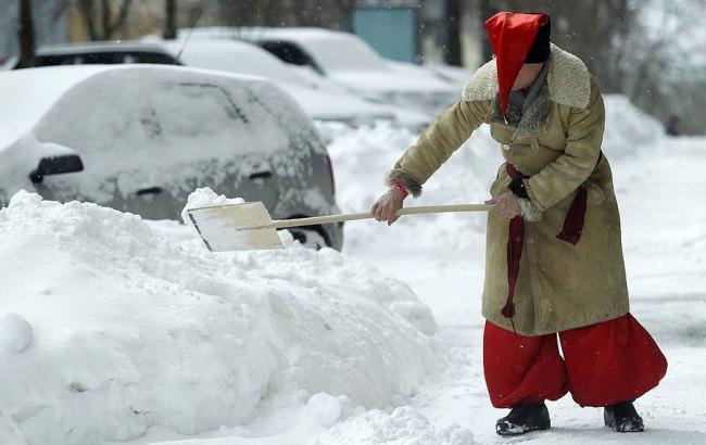 Фото: В Киеве снег (moygrad.kiev.ua)