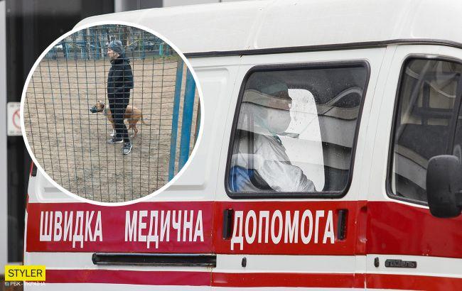 Под Киевом бойцовская собака напала на 7-летнего мальчика: разорванная мочка уха