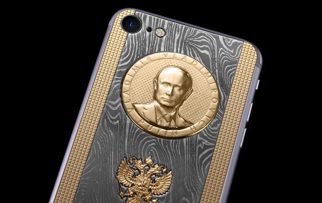 "Фото: Новый ""путинофон"" (caviar-phone.ru)"