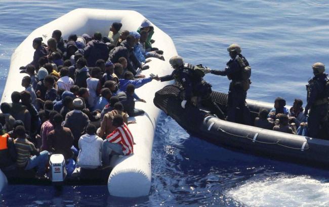 ВСредиземном море спасли неменее 2,2 тысячи мигрантов засутки