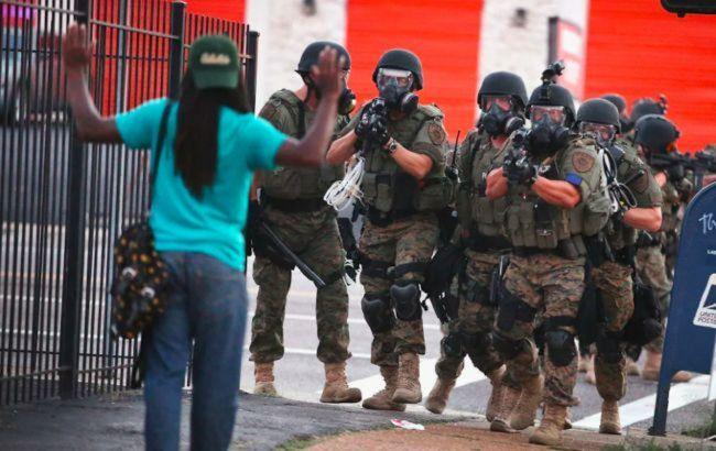 Протесты в США: около 1,6 тысяч военных стянули в район Вашингтона