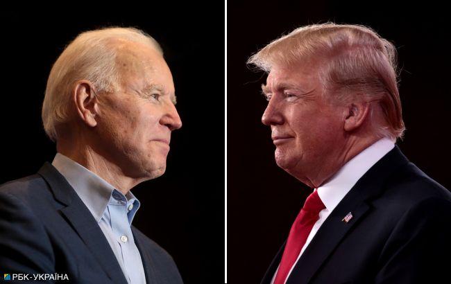 Рейтинги Трампа і Байдена: хто може перемогти на виборах в США