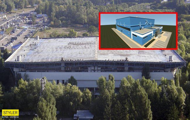 В Киеве построят спорткомплекс на территории недостроенного Ледового стадиона