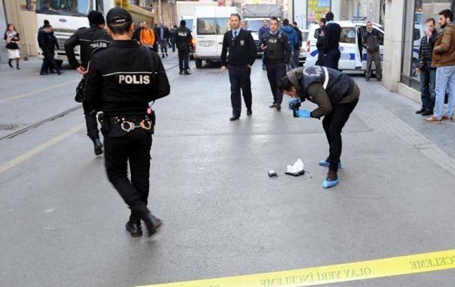 Фото: стрельба у консульства РФ в Стамбуле
