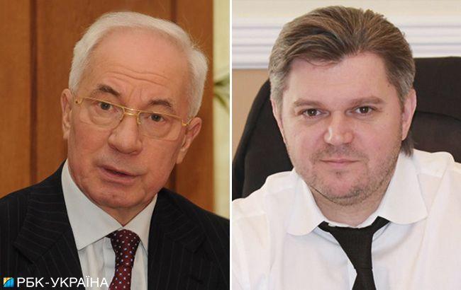 Санкції ЄС проти Азарова і Ставицького офіційно знято