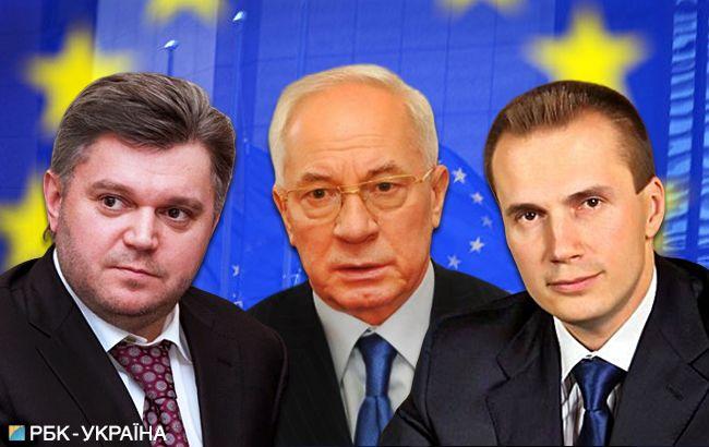ЕС готовится снять санкции с Азарова, Ставицкого и сына Януковича