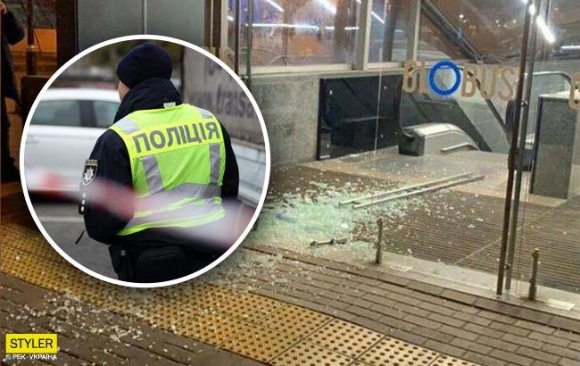 В центре Киева подростки устроили погром в ТРЦ: решили развлечься(фото)