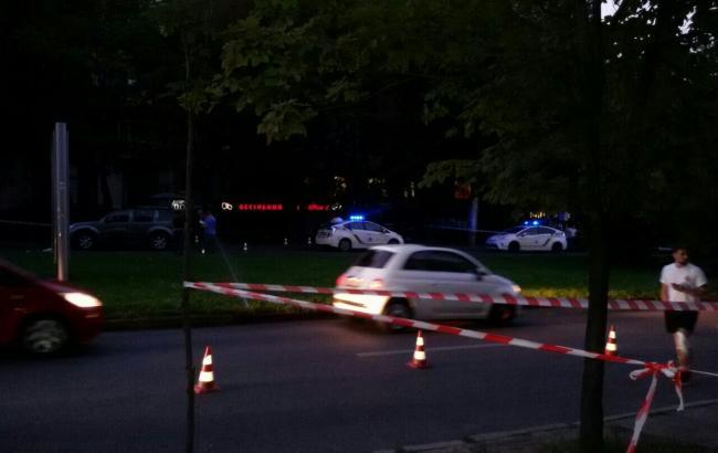 Фото: стрельба в Днепре (informator.dp.ua)