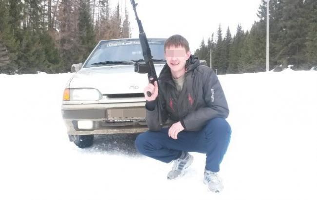Фото: стрелявший учитель (inforesist.org)