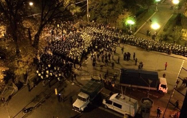 Столкновения под Радой: полиция открыла уголовное производство