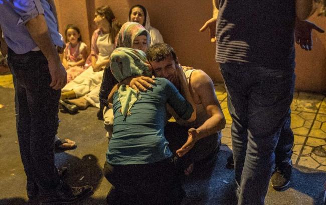 Фото: в результате взрыва на турецкой свадьбе погибло 22 человека