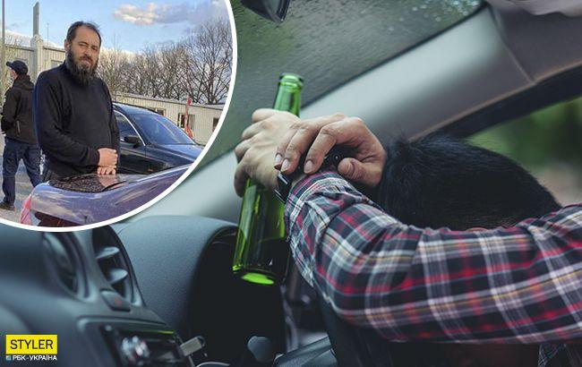 У Харкові п'яний в хлам священик влаштував перегони з поліцією: ледве тримався на ногах