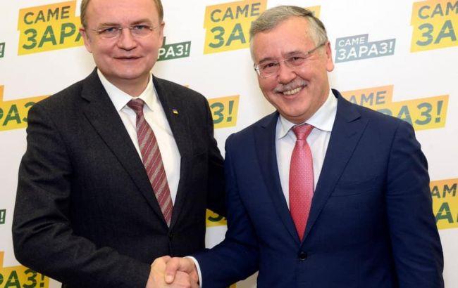 Гриценко бачить Садового потенційним прем'єром