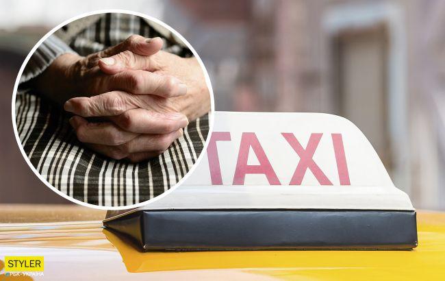 У Києва бабуся обманює людей: просить купити морозива та проїхатись на таксі (відео)