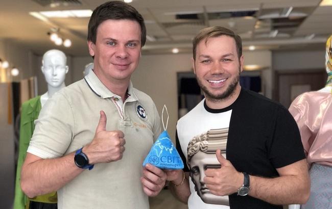 Дмитрий Комаров и Андре Тан