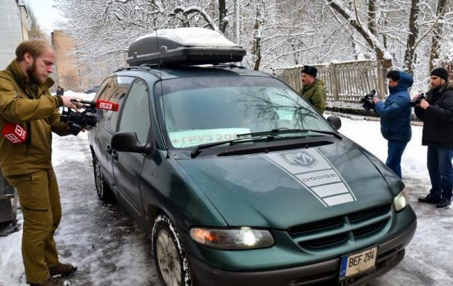 Фото: передача тел українських бійців в Донецьку