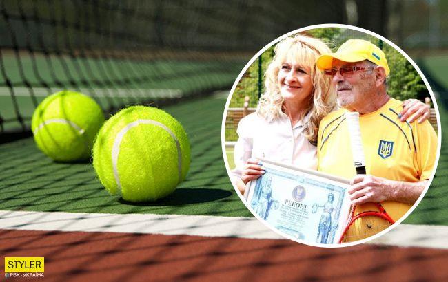 97-летний украинец попал в Книгу рекордов Гиннеса за игру в теннис: фото героя