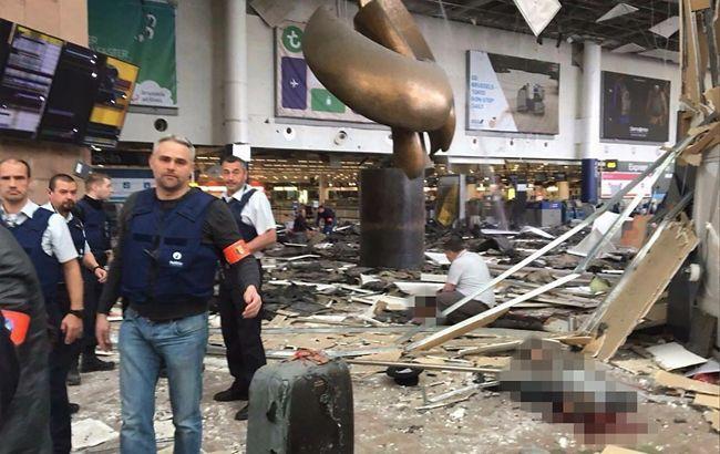 Фото: в Брюсселе произошла серия взрывов