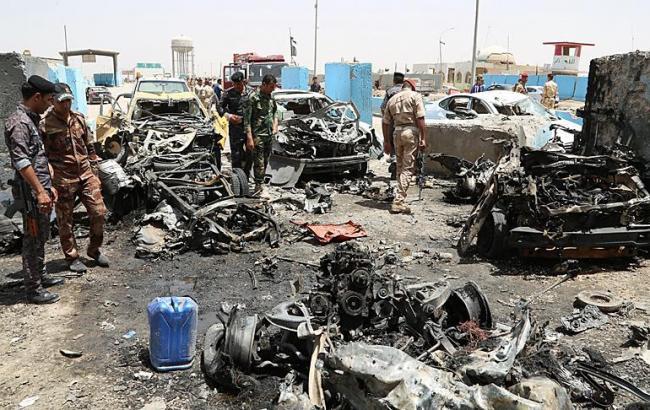 Фото: в результате двух терактов в Багдаде погибли 9 человек