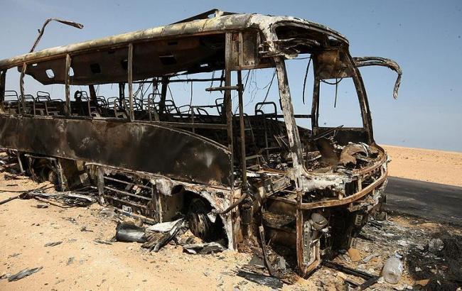 Фото: в результаті підриву автобусу в Сирії загинули 35 людей