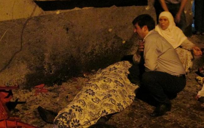 Фото: на турецкой свадьбе прогремел взрыв