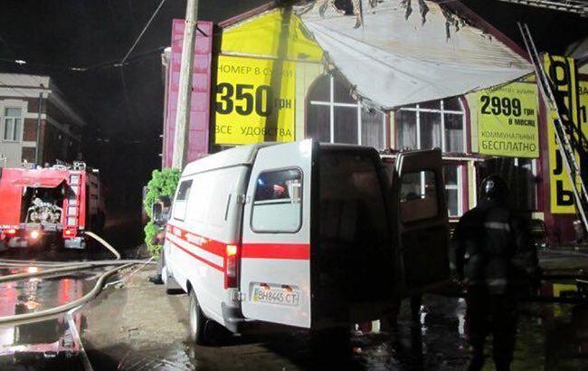 Затримано власника одеського готелю, в якому сталася пожежа