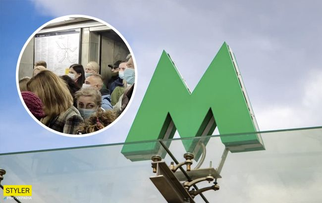 В метро Киева произошел коллапс на одной из станций: более часа в очереди
