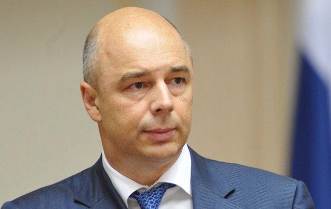 Фото: міністр фінансів Росії Антон Силуанов