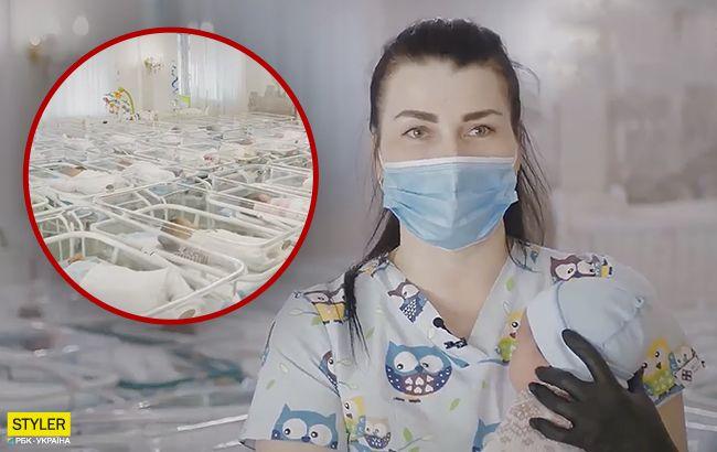 В Украине вспыхнул громкий скандал из-за младенцев, рожденных для иностранцев (видео)