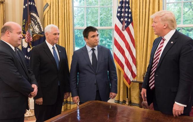 Клімкін обговорив з Трампом подальшу підтримку США України