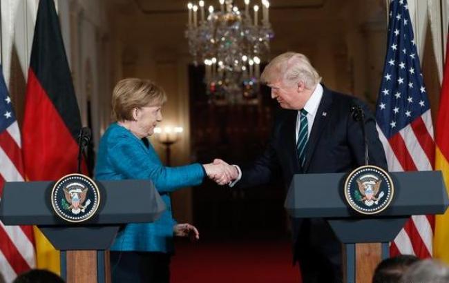 Трамп вручил Меркель счет на 375 млрд долларов за оборону, - источники