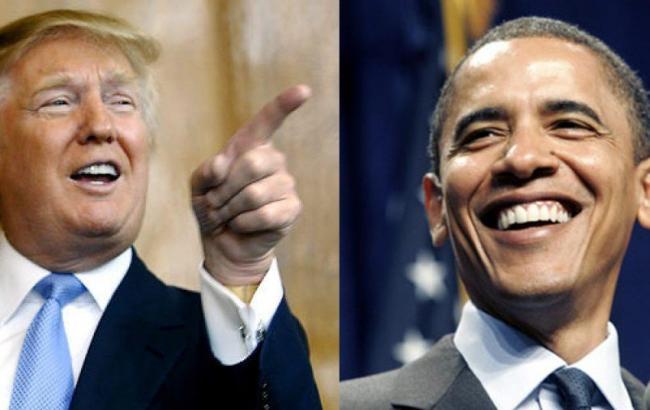 Фото: Барак Обама не считает Дональда Трампа способным быть президентом США
