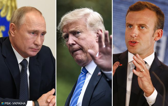 Перемирие и переговоры: Путин, Трамп и Макрон выступили с заявлением по Карабаху