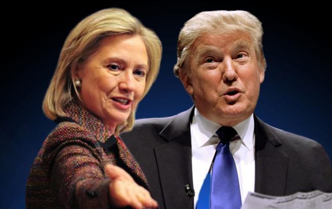 Фото: дебати Трампа та Клінтон